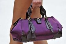 Baguette in Purple / Handbag/Purses/Shoppers/Totes in the color Purple. / by Valerie Richardson