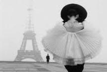 romanticism // paris in black and white.