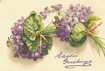 Carte Postale / Beautiful Vintage Post Cards, Greeting Cards, and other Ephemera