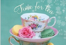 Tea Cozy / Very girlie indulgences... I'm not actually a tea drinker - I don't even like the taste of it, but I'm obsessed with everything associated with tea time - the very idea of taking time to gather with friends, chat and refresh touches the romantic in me...