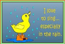 Singing in the Rain / by Indiana Chick