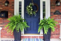 Front doors / by Gina Smith