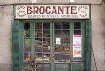 Brocante & Bric-à-Brac..  / Vintage finds..