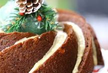Vegan Christmas Sweets & Treats / Eggless and dairy-free cakes and cookies for Santa.