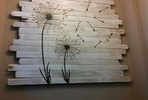Pallet art / by Gina Smith