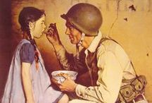 Artist Norman Rockwell / by Indiana Chick