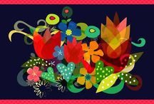 Prints, patterns, and more! / Illustrations and patterns from the best in the world! / by Aisha Khan