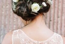 Wedding Hairstyles for Brides and Bridesmaids / Wedding hairstyle ideas for brides, bridesmaids, and guests!