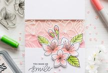 Paper Crafts - Floral / Fabulous cards with a floral theme