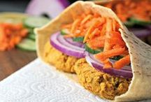 Vegan Lunches & Sandwiches / Vegetarian lunch ideas, that are eggless and dairy-free.