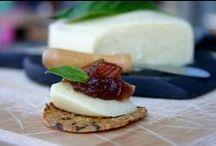 Vegan Cheeses / Dairy-free cheeses.