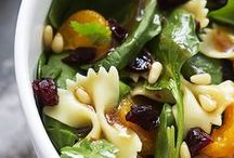 Vegan Salads / Vegetarian salads that are eggless and dairy-free.