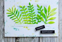 MFT Leafy Greenery Die-namics / Ideas for using the MFT Leafy Greenery Dienamics