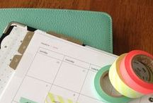 Home: Printables & organization / Printables and organizational tips for my home