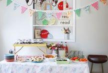 Celebrate: Party Decor / party decor inspiration