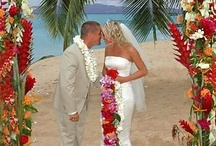 Beach Wedding / Beach Wedding...Sand between your toes on your wedding day!  The beach is the perfect place to start your married life.  We have found ideas to make the day perfect!