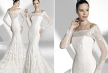 Mermaids are Beautiful! / What a beautiful wedding dress to curve the body in all the right places!
