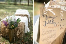 Western & Rustic Weddings / Western and rustic weddings come with so many choices, here are some great ideas!