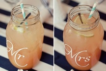 Mason Jars, great ideas to use in a wedding / There is so much that can be done with the mason jar to make beautiful additions to your wedding.