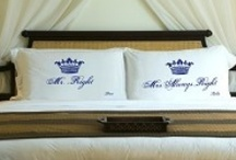 Gifts for the bride and groom / A variety of items that will make the perfect gift for the bride and groom.