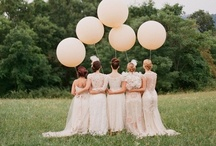 Balloons!  Fun ways to use balloons in your wedding. / Enjoy the ideas we have found to use balloons in your weddings...from photos to decorating!