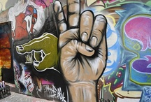 Street Art / Street art that we like including pieces in Melbourne laneways created by young people from Signal Street Art Mentoring and artists from Blender Studios