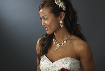Bridal Jewelry / The choice of jewelry will complete the special look.  It can also made a great gift for the ladies in your wedding party.  Giving each person memories from your wedding every time they wear it again.