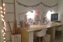 Nice workspaces! / I work at home, so a nice workspace is very important to me... here's a little bit of inspiration