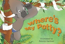 Where's My Potty? Illustrated by Felicity Gardner / www.hachettechildrens.com.au/9780734413864