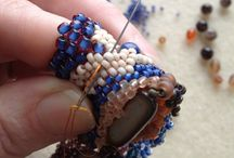 craft - beading, beaded bezel... / by Doris Chan