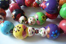 craft - bead, beaded bead... / by Doris Chan