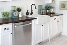 For the home: Kitchen Ideas & Inspiration / by Laurie @ Gallamore West