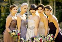 Bridal Party Ideas - Inspiration for my couples / by Justine Berman