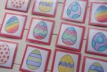 [Holiday] Easter / Fun crafts and art projects along with learning resources for the Easter season. / by Stephanie The Multi Taskin' Mom