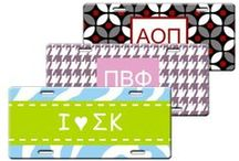 Sorority Style / Monograms especially for you, Sorority Girl! / by Whimsees {personalized gifts}