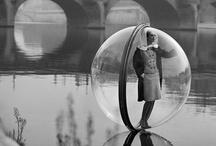 Bubble Shoot Harper's bazaar 1965 by Melvin Sokolsky