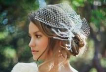 Wedding - bridal hair ideas / by Christina B. D.