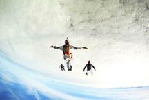 Skydiving Freedom / The intensity of freefall with the peacefulness under canopy.