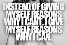 Get in shape / Motivation!