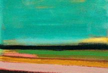 LANDSCAPES / Painting the land.
