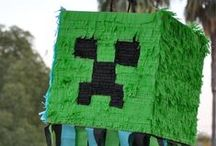 Minecraft Party / by Laurie @ Gallamore West