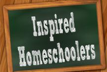 Inspired Homeschoolers / A collaborative board shared by blogging-homeschooling-moms.