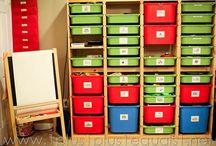 Infant Classroom Organization / by Stephanie Moon