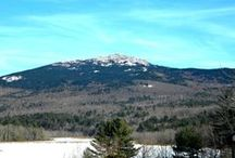 Mount Monadnock / Monadnock, a Native American word meaning 'mountain that stands alone', is the 3,165 foot mountain from which our region gets its name.