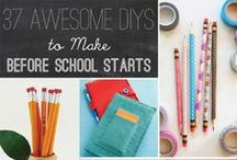 """Ready for Back-to-school / Although my twin tots aren't school aged, I figured that I'd add my two cents to the back-to-school preparation ideas. Here's my """"funky fresh"""" twist on back-to-school must-haves for the new school year."""