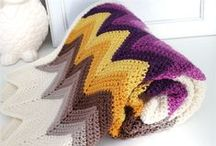 Crochet throws, blankets / by Cleo Bales
