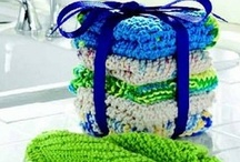 Crochet~washcloths~kitchen / by Cleo Bales