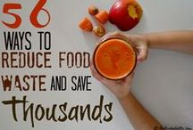 Fight Food Waste / Food waste is a BIG problem, but we have plenty of easy tips we can all use to tackle our part of the battle. / by Ecocentric