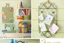 Creative Spaces / Craft rooms and home offices / by Kristi Challenger
