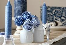Blue and White / by Kristi Challenger